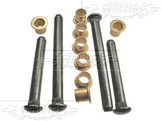 66-74 Barracuda door hinge pin kit-pins/bushings