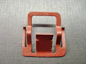 1973 Ford front windshield garnish moulding clip NOS D3AZ-7128880-AA