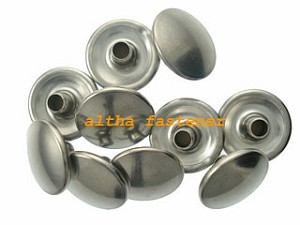 stainless steel snap fastener-button-standard