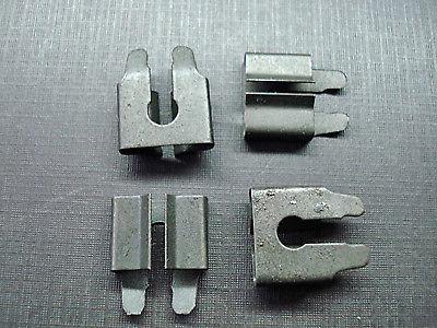 6 pcs NORS body side belt door fender moulding clips sealer nuts fits Ford