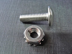 "10-32 x 5/8"" 64 65 66 67 68 El Camino stainless grille rivet screw & nut"